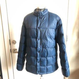 Mountain Hardwear Blue Packdown Downfill Jacket XL